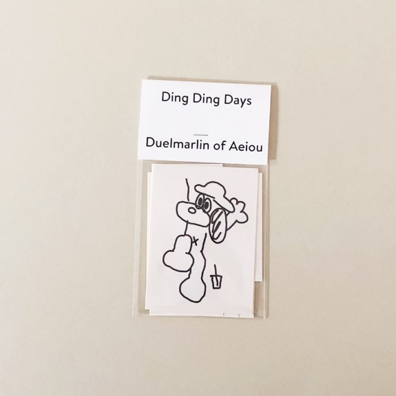 2019 Ding Ding Days Sticker  5 set