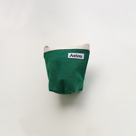 희정님 / Aeiou Basic Pouch (M size)Green Tree