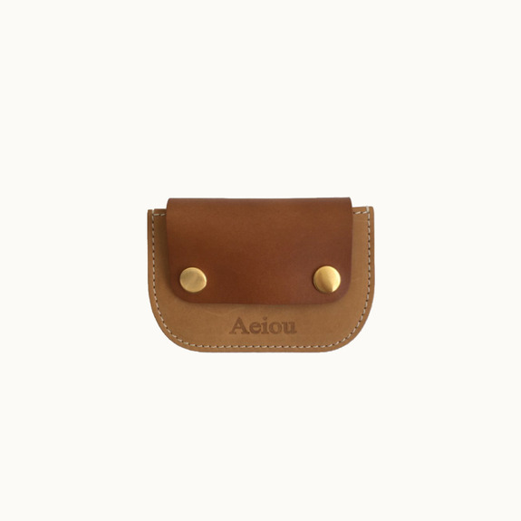 Joy, card holderlatte brown (nubuck)