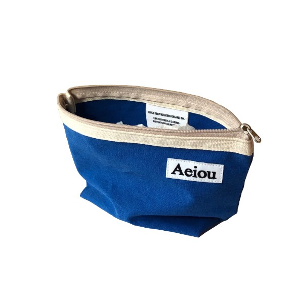 A.B.P / Aeiou Basic Pouch (L size) Another Blue Lake