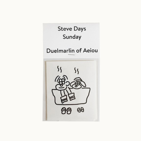 Steve Days Sticker / Sunday  5 set