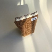Aeiou Basic Pouch (M size)French Toast