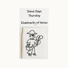 Steve Days Sticker / Thursday  5 set
