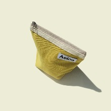 Out of stock / Aeiou Basic Pouch (M size)Mustard yellow