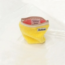 Aeiou Basic Pouch (M size) Scrambled eggs fur