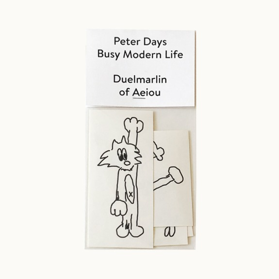 Peter Days Sticker  Busy Modern Life 5 set