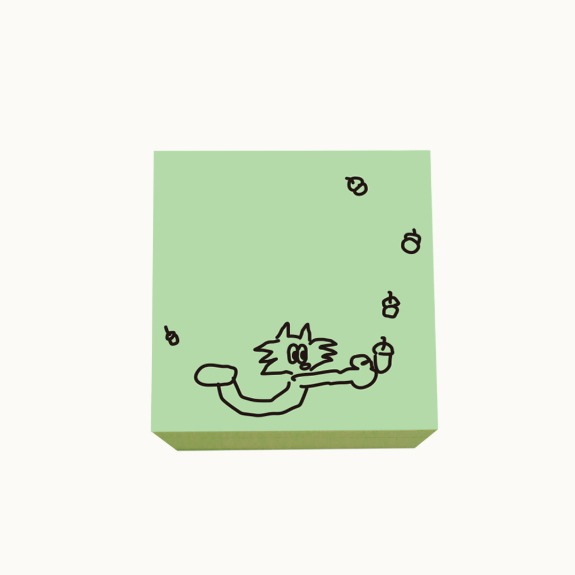 Peter and Acorn  Post-it