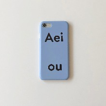 Aeiou Phone case Blueberry Soda
