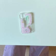 Aeiou Phone case Cat Pink my vegetables